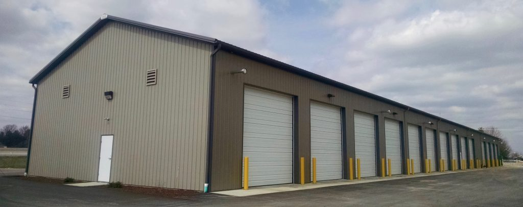 Elkhart county Highway Dept. – Goshen, IN 48 x 280 x 18 Storage buildings